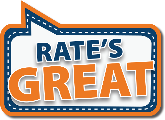 Rate's great!